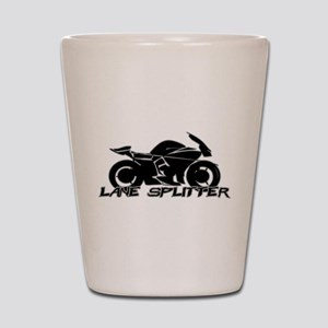 Lane Splitter Shot Glass